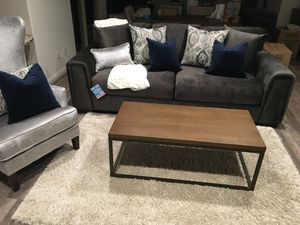 Rare Dark Grey Sofa / Couch- Like New for Sale in Ladera Ranch, CA