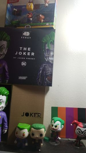 The joker by Jason freeny DC comics for Sale in New York, NY