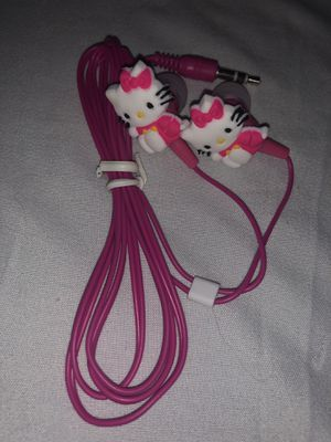 Hello Kitty headphone new without packaging for Sale in Kissimmee, FL