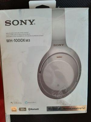 Sony headphones WH-1000X M3 for Sale in Lemoore, CA