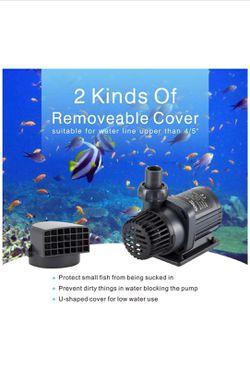 Water Pump Fish Tanks, Aquariums, Ponds, Fountain Quiet Submersible & External 24V DC w/ Controller for Sale in Tucson,  AZ
