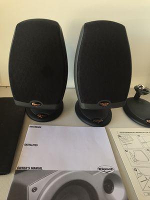 Klipsch RSX-4 Satellite Speakers Black Set of 2 for Sale in Livermore, CA