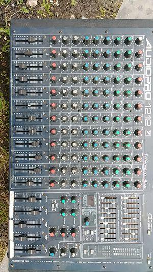 Audio Pro 12 12 performance mixer for Sale in San Antonio, TX