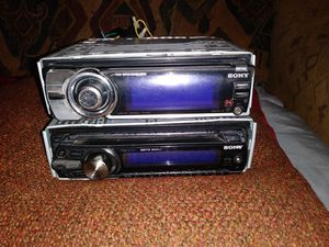 SONY EXPLODE CD PLAYER RADIOS for Sale in Dallas, TX