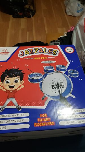 Jazzales drum set for kids (age 3+) for Sale in Miami, FL