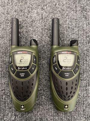 Cobra micro talk 16 mile radius walkie talkie's for Sale in Albuquerque, NM