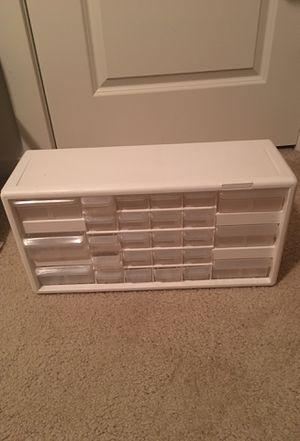 26 Drawer Plastic Storage for Sale in Bellevue, WA