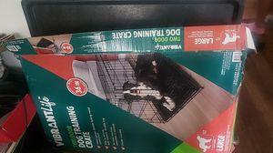 Two door dog crate 30 × 24 for Sale in MI METRO, MI