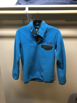 Patagonia Fleece Jacket, Lightweight Synchilla Pullover, Sz XS, Blue for Sale in Colorado Springs, CO