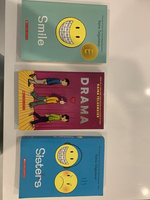 Set of books (smile, drama, and sisters) for Sale in Fort Lauderdale, FL