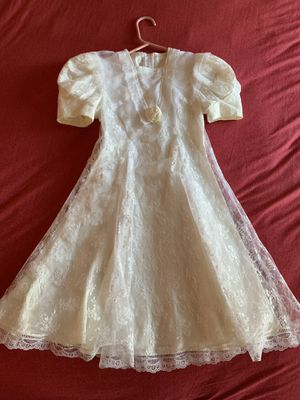 First communion/ Flower girl dress sz 7 for Sale in Amherst, NH