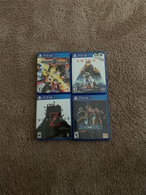 Ps4 games for Sale in Lynnwood, WA