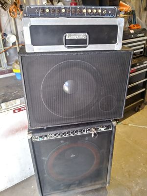 Band dj equipment for Sale in Tempe, AZ
