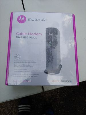 Motorola Cable Modem for Sale in Wheeling, IL