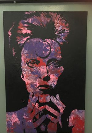 Original David Bowie large painting for Sale in Orange, CA