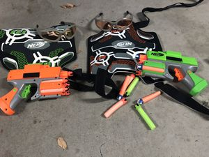 Nerf Dart Tag Strike Fire 2-Player Dual System for Sale in Fresno, CA