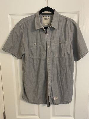 Vans short sleeve button up (Grey) for Sale in Pittsburg, CA