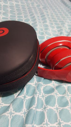 Red beat head phones for Sale in The Bronx, NY