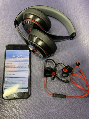 iPhone 7,beats solo wireless 3 and Powerbeats 3 for Sale in Washington, DC