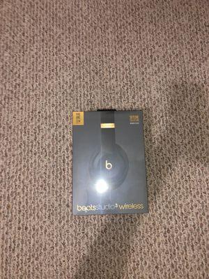 beats studio3 wireless headphones skyline midnight black for Sale in Pflugerville, TX
