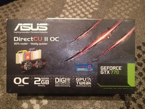 Asus GTX 770 2GB for Sale in Chicago, IL