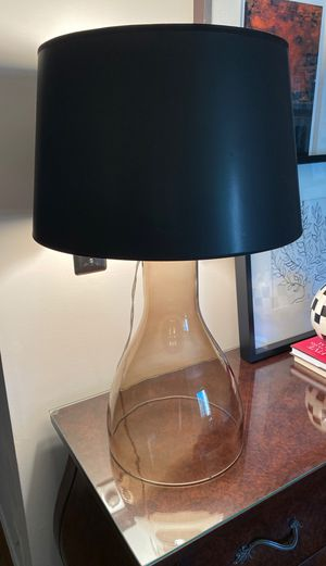 Great condition glass lamp for Sale in Alexandria, VA
