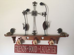 Entire kitchen decor of roosters for Sale in Union City, GA