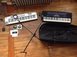 Casio keyboard and/or Oxygen 61 midi controller for Sale in Portland, OR