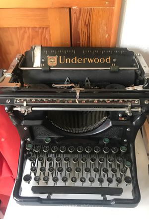 Underwood typewriter for Sale in Austin, TX