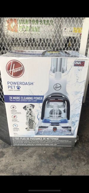 Hoover—Pet vacuum carpet cleaner -power dash for Sale in Phoenix, AZ