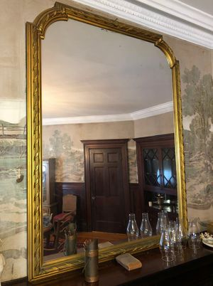 """Antique Large Gold Frame Mirror / Regency style 60""""W x 46""""H - 1910 - 1940s for Sale in Bellingham, MA"""