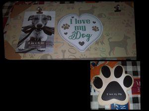 New Doggie Frame & leash holder for Sale in Fresno, CA