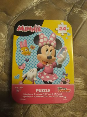 Minnie Mouse 24 piece puzzle, ages 3 and up for Sale in Happy Valley, OR