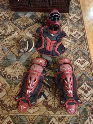 Samurai leg guards, All Star chest protector, All star helmet for Sale in Biddeford, ME