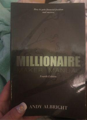 Millionaire maker manual 4 Edition Book for Sale in El Mirage, AZ