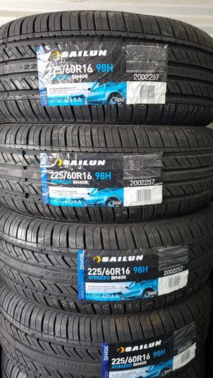225 60 16 New Tires for Sale in Tucson, AZ