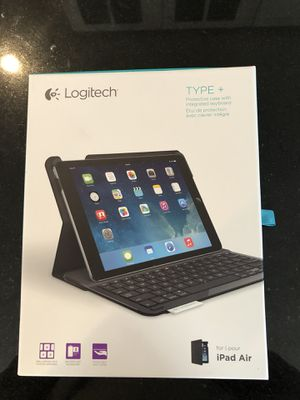 Logitech Type + keyboard and case for iPad Air for Sale in Baltimore, MD