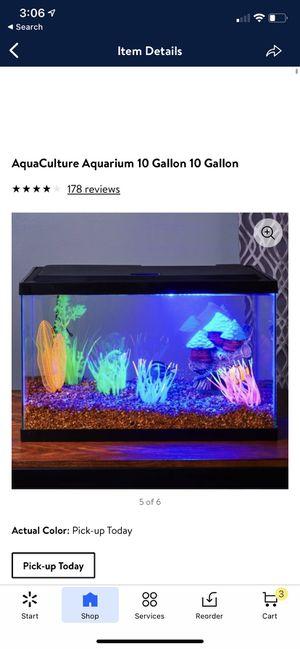 10 Gallon Fish Tank for Sale in Escondido, CA