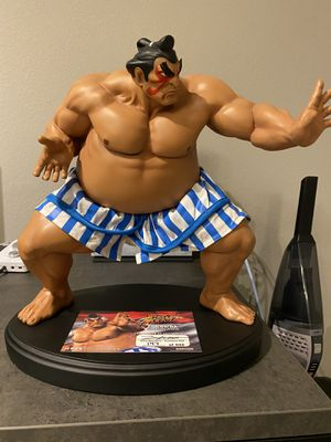 Street Fighter E.Honda statue from Pop culture shock collectibles. for Sale in Altamonte Springs, FL