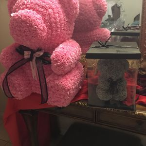 Small Rose Teddy Bear for Sale in Jurupa Valley, CA