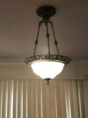 Hanging light fixture for Sale in Woodbridge, VA