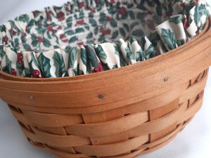 "LONGABERGER BASKETS ""DARNING 15504 1994 for Sale in Redford Charter Township, MI"