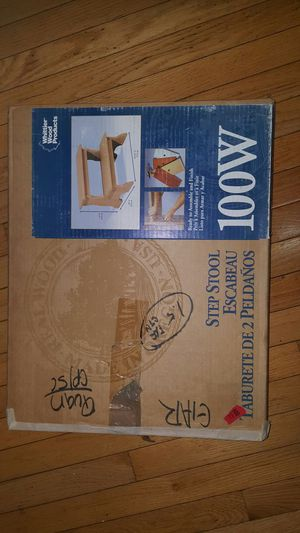 wooden step stool for Sale in Fairfax Station, VA