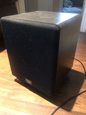 250w Acoustic Audio Black CS-PS8-B Front Firing Subwoofer for Sale in Los Angeles, CA