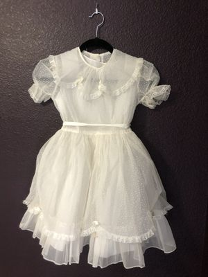 Vintage first communion or flower girl dress--1950s for Sale in Tracy, CA