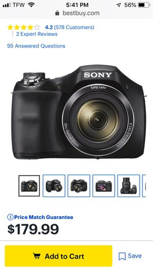 Sony cyber shot camera for Sale in Fernley, NV