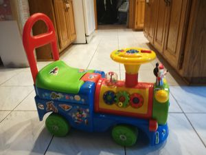 Kids toy sit on train for Sale in Fridley, MN