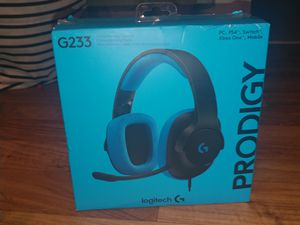 Logitech Prodigy g223 gaming headphones 4 PC PS4 switch Xbox One and mobile for Sale in Seattle, WA