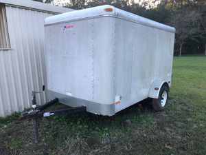 6x10 Box trailer / Traila (title in hand) for Sale in New Caney, TX