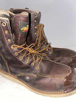 Men Preowned Thorogood Steel Toe Boot Size 12 for Sale in Chula Vista, CA